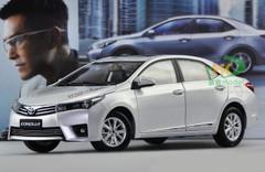 1/18 TOYOTA Corolla (SILVER) DIECAST CAR MODEL