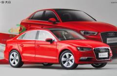 1/18 Dealer Edition AUDI A3 Sedan (Red) DIECAST CAR MODEL