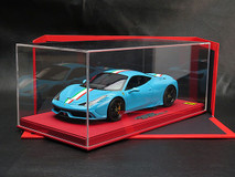BBR HANDMADE RESIN 1/18 FERRARI 458 SPECIALE (BLUE)! LIMITED 20!