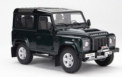 1/18 Kyosho Land Rover Defender (Dark Green)