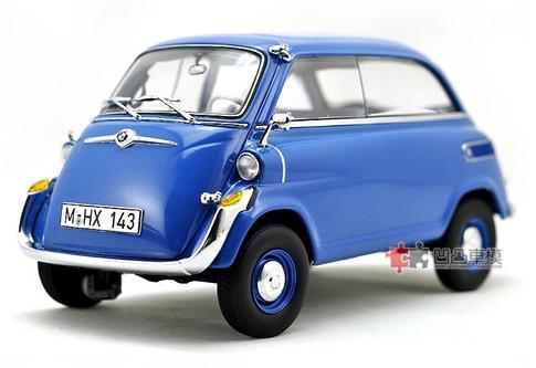 1 18 dealer edition bmw isetta 600 blue diecast car. Black Bedroom Furniture Sets. Home Design Ideas