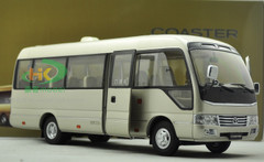 1/24 Dealer Edition Toyota Coaster Bus Diecast Car Model