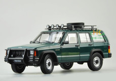 1/18 Dealer Edition Classic Jeep Cherokee (Green)