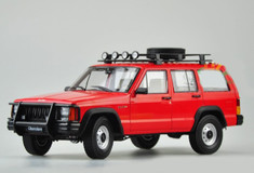 1/18 Dealer Edition Classic Jeep Cherokee (Red)