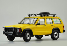 1/18 Dealer Edition Classic Jeep Cherokee (Yellow)