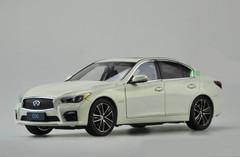 1/18 Dealer Edition Infiniti Q50 Q50S (White) Diecast Car Model