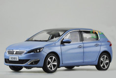 1/18 Dealer Edition Peugeot 308S (Blue) Diecast Car Model