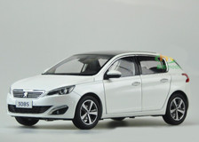 1/18 Dealer Edition Peugeot 308S (White) Diecast Car Model