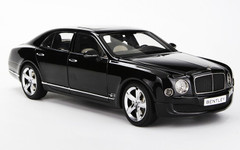 1/18 Kyosho Bentley Mulsanne (Black)