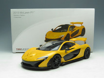 1/18 TSM Mclaren P1 Limited Edition (Yellow)