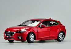 1/18 Dealer Edition Mazda 3 Axela Hatchback (Red)