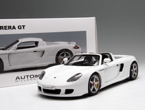 1/18 AUTOart Porsche Carrera GT (White)