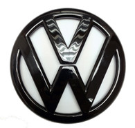 Gloss Black Rear Emblem MK6 VW Golf, GTI