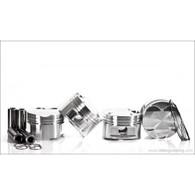 IE - JE 1.8T 20V Piston Set: 81MM Bore, 8.5:1 CR, Stock Stroke - 86.4MM