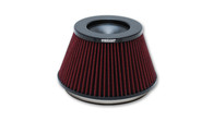 "Vibrant Air Filter 6"" inlet Fits Bellmouth Velocity Stack"