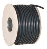 4mm Black Silicon Vacuum Hose, Per Foot