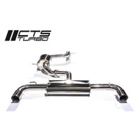 CTS Turbo MK6GTI 3 Cat Back Exhaust Turbo Cat-back Exhaust