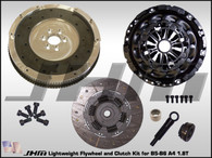 JHM Lightweight Flywheel and Clutch Combo with B7-RS4 Pressure Plate for B5-B6 A4 1.8T