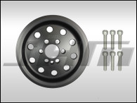 JHM Lightweight Crank Pulley for B7-A4 2.0T FSI