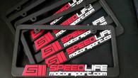 Speedlife License Plate Frames
