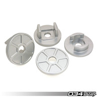 034 BILLET ALUMINUM REAR SUBFRAME MOUNT INSERT KIT, B8/B8.5 AUDI S4/RS4, S5/RS5, Q5/SQ5
