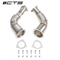 CTS TURBO B9 AUDI RS5 HIGH-FLOW CATS  CTS-EXH-DP-0039-CAT