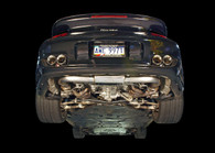 AWE Tuning - 997TT Muffler with 200 Cell Cats