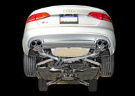 AWE Tuning - Audi B8 S4 Resonated Downpipes