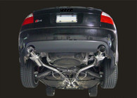 AWE Tuning - Audi B6 S4 Touring Edition Exhaust with Silver Tips
