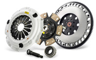 Clutch Masters - FX400 VW R32 4Puck Clutch Kit Steel Flywheel