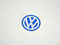 Blue VW Sticker