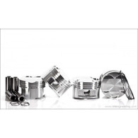 IE- JE 1.8T 20V Piston Set: 82.5MM Bore, 8.5:1 CR, Stock Stroke - 86.4MM