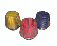 "Extreme Flow air filter 14 mm 4.5"" YELLOW RED BLUE"