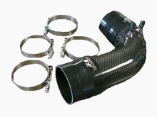Lexus ISF 08-12 Carbon Fiber Intake Air Pipe Kit Replace Factory Rubber Intake Hose