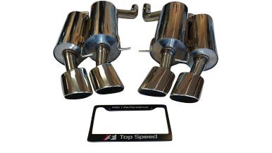 BMW E60 M5 V10 5.0L 06-10 Rear Section Performance Exhaust System