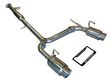 Nissan 350Z Z33 03-08 Mid Resonator Dual Performance Exhaust System