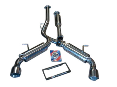 Scion FRS Subaru BRZ GT86 13-UP Top Speed Pro-1 Dual Catback Exhaust System