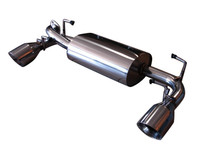Scion FRS Subaru BRZ 13-16 Performance Dual Axle-back Exhaust System