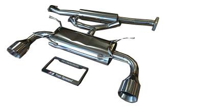 Scion FRS Subaru BRZ GT86 13-19 Top Speed Pro 1 Catback Exhaust System