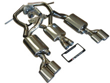 Mercedes Benz W211 E55 AMG 03-06 Dual Catback Exhaust Systems