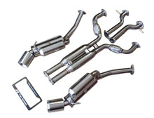 Nissan 370Z VQ37VHR 09-15 Top Speed Pro-1 Track Spec Catback Exhaust System