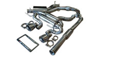 VW Golf R 2.0T MK6 12-13 Performance Turbo Back Exhaust System