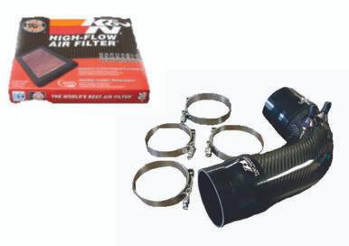 Lexus ISF 08-12 Carbon Fiber Intake Pipe Upgrade + K&N Drop in Air Filter