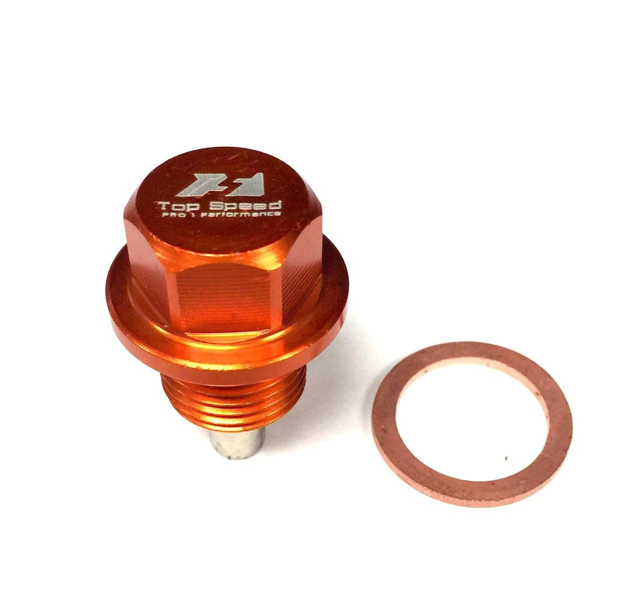 neodymium magnetic oil drain bolt plug xmm  subaru fa brz scion fr  toyota