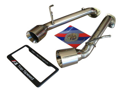 Infiniti G37 Coupe 08-13 Top Speed Pro-1 Upgrade Axle-back Exhaust System