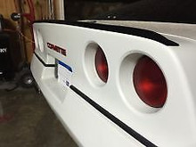 Chevrolet C4 Corvette 84-96 Rear Trunk Lip Spoiler