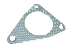 Nissan 370Z Z34 09-15 Test Pipe Triangle 3 Holes Gaskets Kit with New Bolts