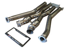 Chevy Corvette C5 Base 5.7L LS1 Z06 LS6 97-04 Performance Cross X Pipe 200 Cell