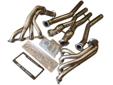 Chevy Corvette C5 Base 5.7L LS1 & Z06 LS6 V8 97-04 Headers + 200 Cell Cat X-Pipe