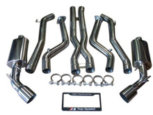 "Chevrolet Chevy Camaro SS 6.2L V8 10-14 Performance 76mm 3"" Dual Exhaust Systems"